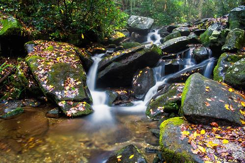 longexposure mountains stream fuji tennessee smokymountains roaringfork xpro1