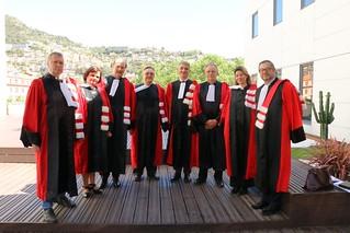 Защита первой диссертации под двойным руководством РУДН с Университетом Ницца София Антиполис