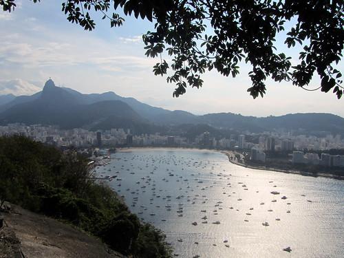 Vista sulla laguna di Rio