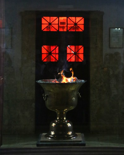 The Zoroastrian Fire Temple.