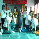 Fri, 17/07/2015 - 19:46 -  Shifu Kanishka Sharma's students visited the Fawang temple where Shifu had spent few years training under grand master Da Shifu Heng Jun.
