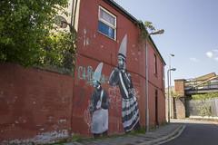 Street art, Cumnock Place, Splott, Cardiff