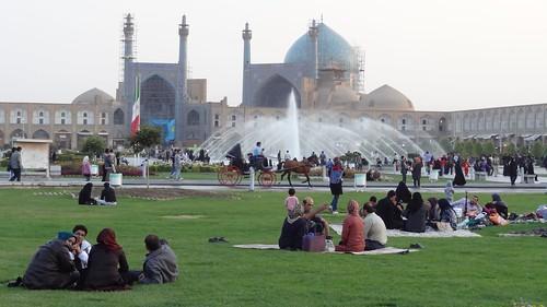 Esfahan's famous Imam Square