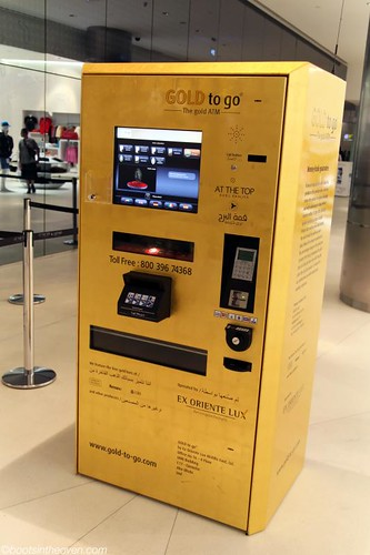 "This is a ""Gold ATM."""