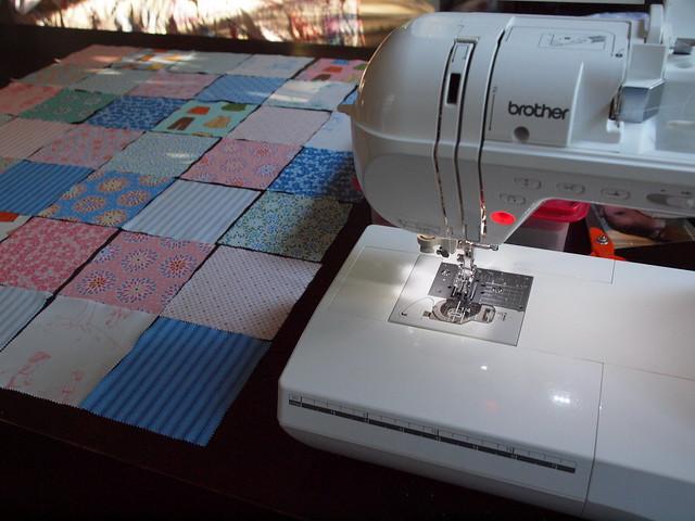 I'm sewing