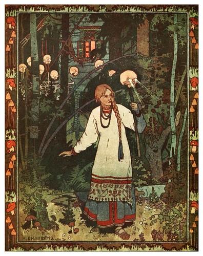 003-Wassilissa la bella-Russian-wonder tales ..1912-Ivan Jakovlevich Bilibin
