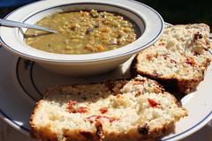 Dutch oven Split Pea Soup recipe
