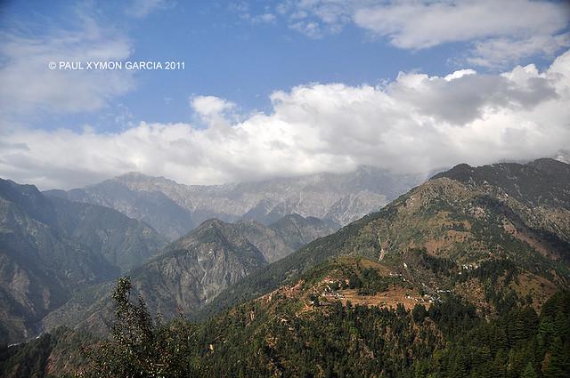 Dhauladhar Himalayas, India