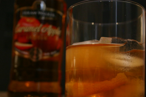 Spiced Cider Old Fashioned