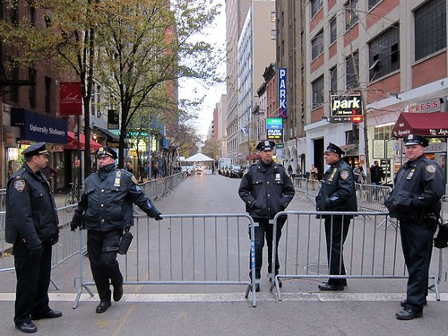 NYPD freezing 12th Street for Obama's Gotham Bar and Grill dinner
