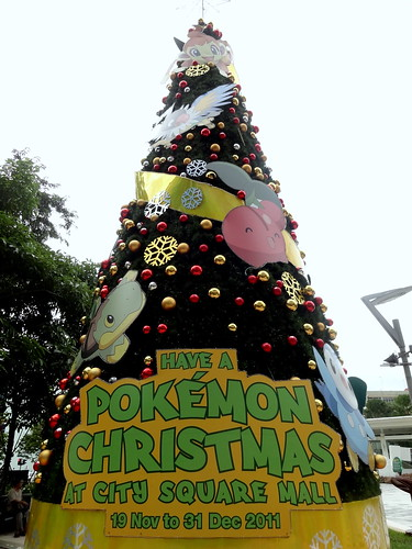 the Pokemon Tree; City Square Mall, Singapore by Jackerbie