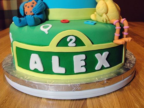 Cake Images With Name Sunny : MamaWa s Cake Journey: Sunny days for Sesame Street cakes!