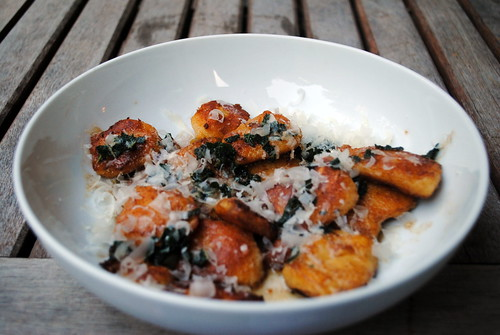 Gluten Free Pumpkin Gnocchi with Sage-Brown Butter Sauce