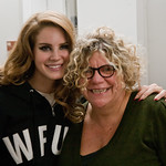 Lana del Rey with Rita Houston