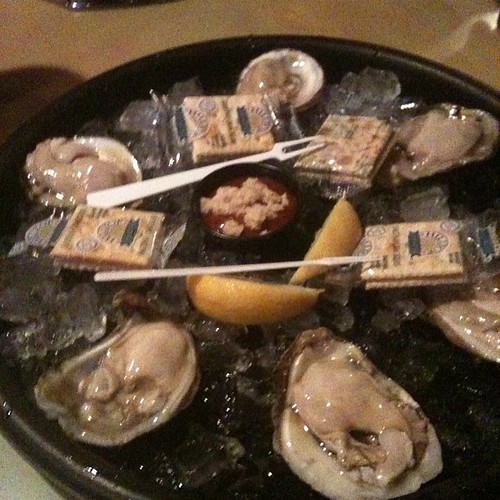 Oysters at Oceana