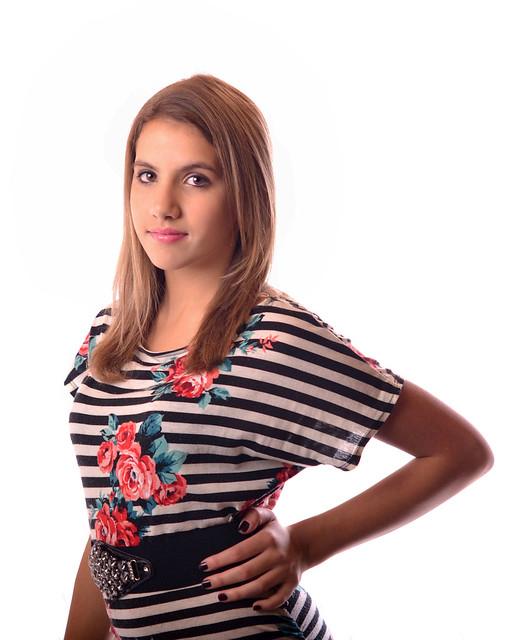 Beautiful young model, K