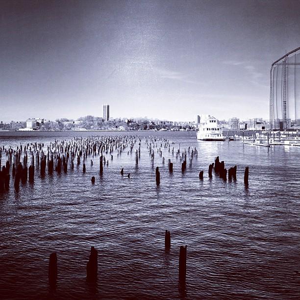 Pier on the Hudson #1