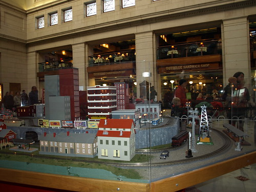 Largest MTH railroad display