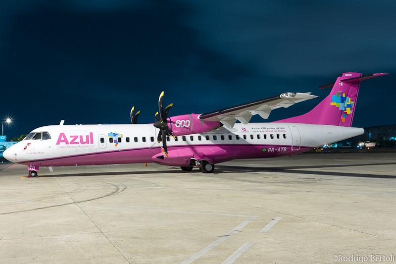 "Azul - ATR72-600 PR-ATB ""La Ville Rose"" 6450361693_6323abb394_b"