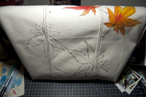 Maple leaf bag back, almost there!