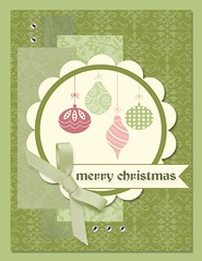 Olive and Celery Christmas Card