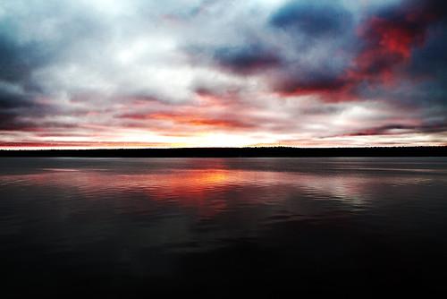 sweden lulea sea seascape sunset twilight color colors beautifull clouds scenery scene hdr 3x canon eos 5dmk2 flickraward ringexcellence flickraward5 mygearandme mygearandmepremium mygearandmebronze mygearandmesilver