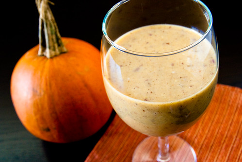 Pumpkin Spice Soy Smoothie
