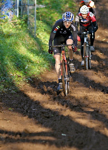 Cyclocross Racing in the Mud