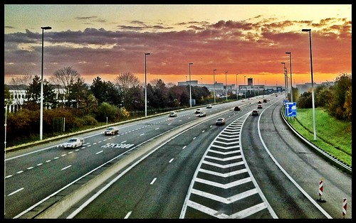 sunrise highway zaventem iphoneography
