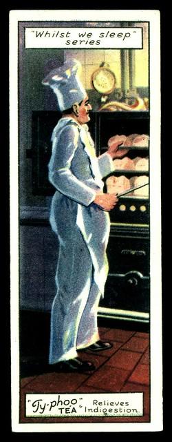 British Trade Card - The Baker