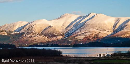 1000/663: 06 Dec 2011: Derwent Water and Skiddaw by nmonckton