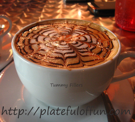 O' Railey's Cafe Mocha Latte