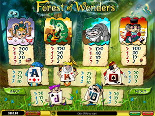 free Forest of Wonders slot mini symbol