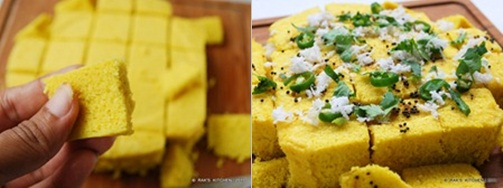 dhokla recipe step 4
