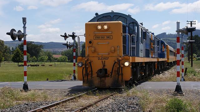 Taieri Gorge Railway DJ 3107 EX NZR Locomotive.