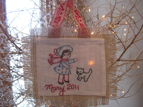 December stitch-along  For Mary