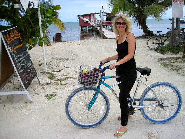 renting bikes on caye caulker belize