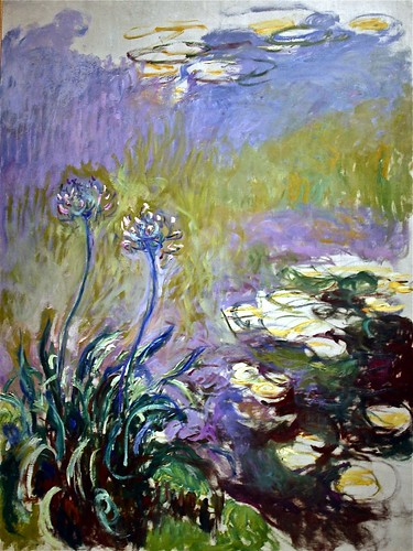 """Agapanthus"" by Claude Monet 1914"