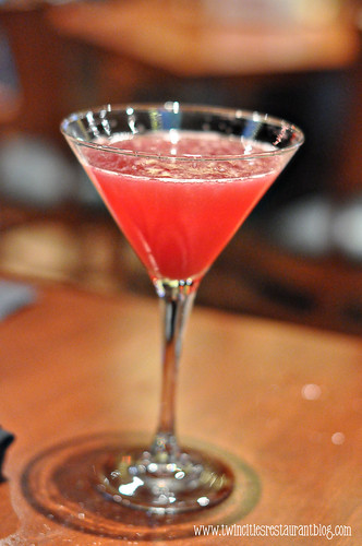 Pomegranate Martini at Bricks Pub ~ Blaine, MN