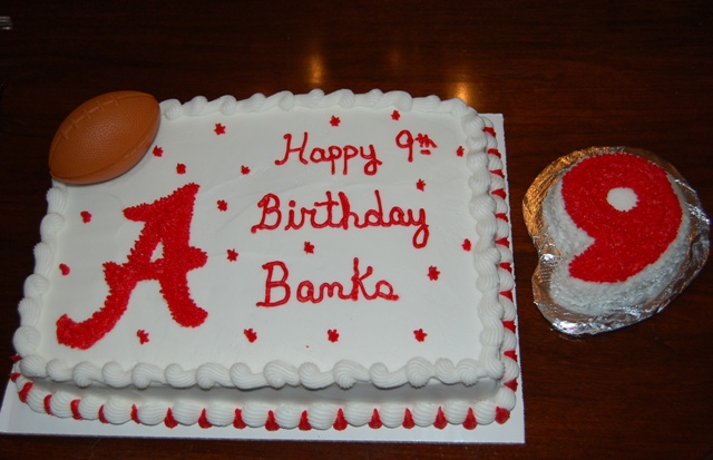 Banks9thBirthdayCake