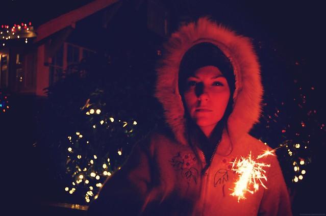 sparkled glare