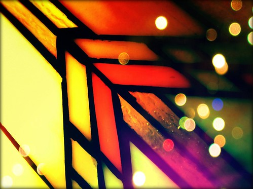 187/365- Stained glass by elineart