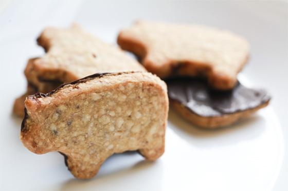 Cookie Swap: Chocolate-Dipped Bacon Shortbread Cookies | Tasty ...