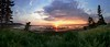Lord Selkirk Provincial Park Sunset Panorama, P.E.I., Canada