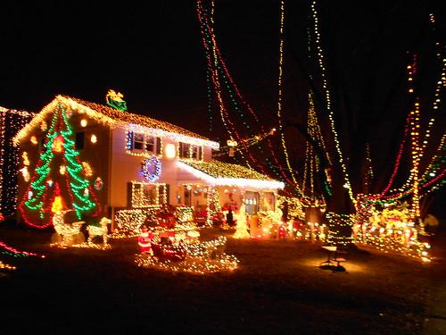 6552022963 ecb6d1f2e4 crazy christmas houses