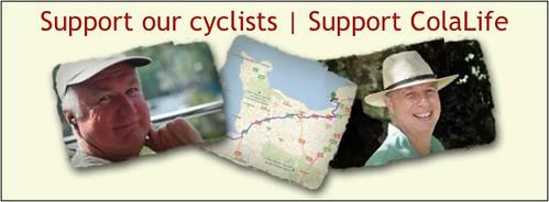 D2D Cyclists Banner