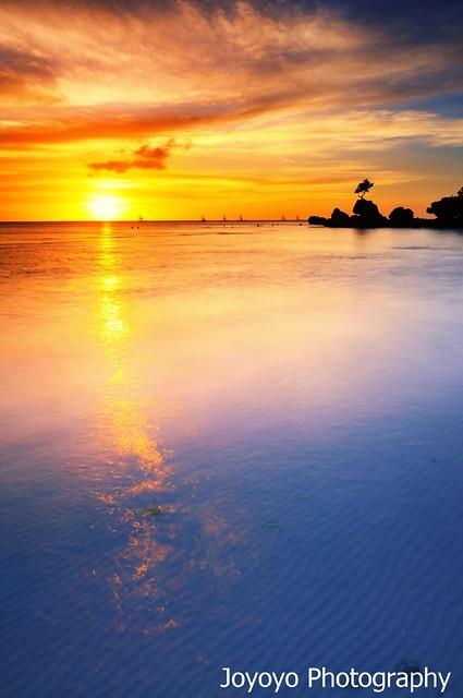 日落長灘島