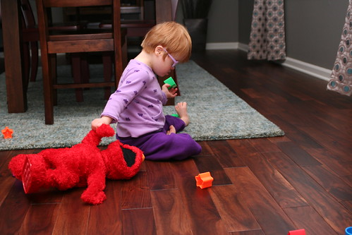 Beating Up Elmo