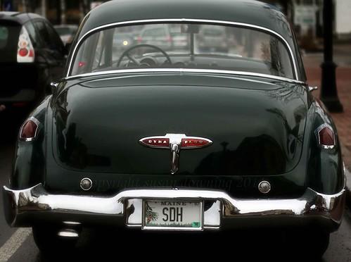 Green Sedan