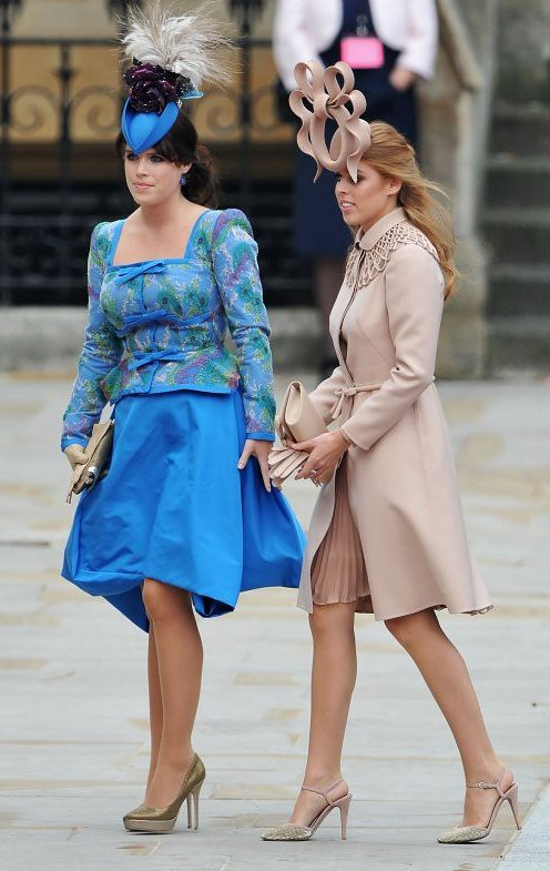 Princes Eugenie, Princess Beatrice (Royal Wedding)